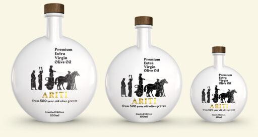 Ariti Olive Oil The limited elegant edition bottles