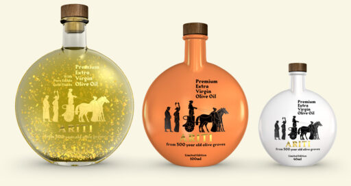 Ariti Olive Oil Make it personal bottles